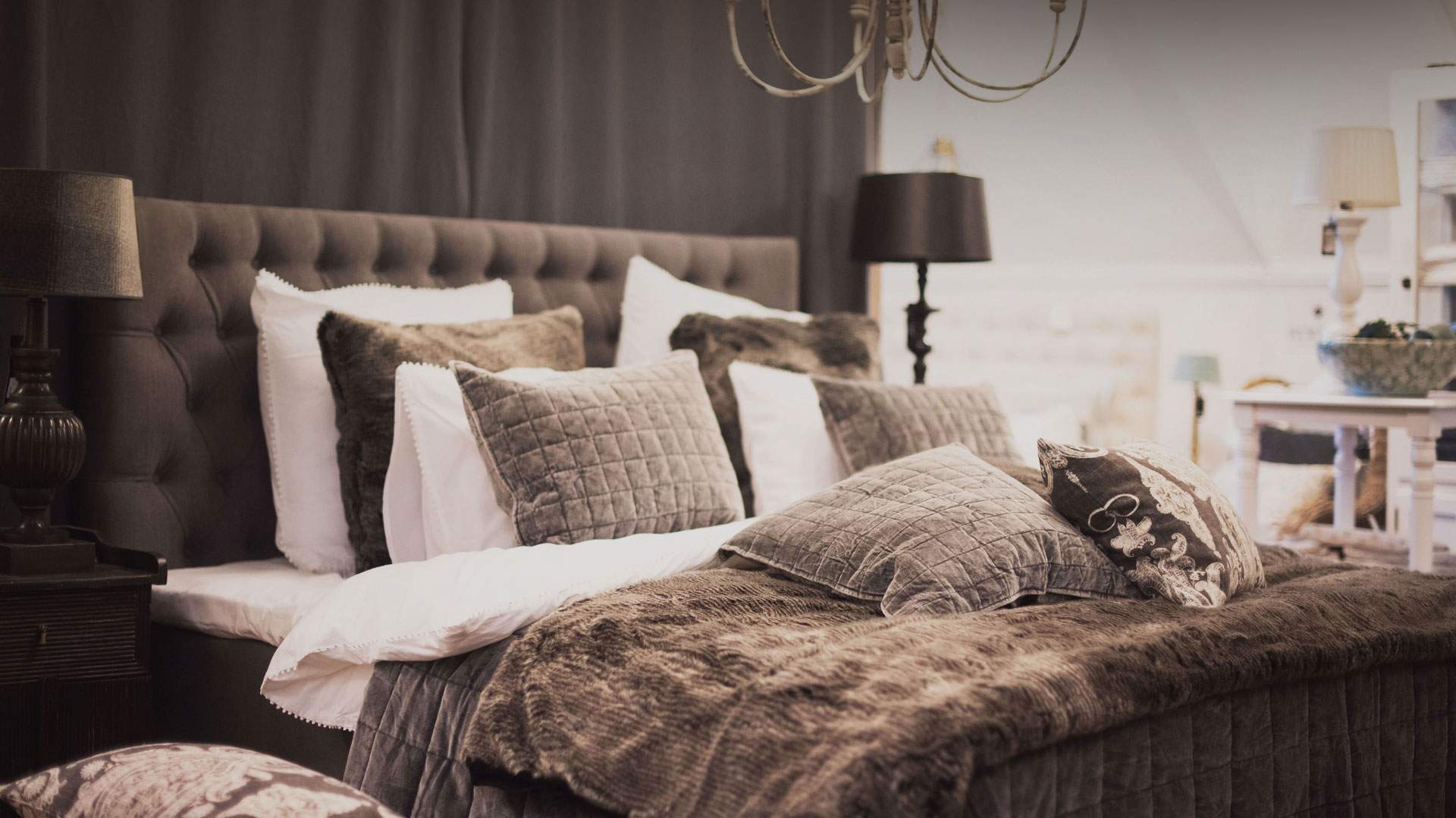 Tre våningar inredning & textil till hela hemmet